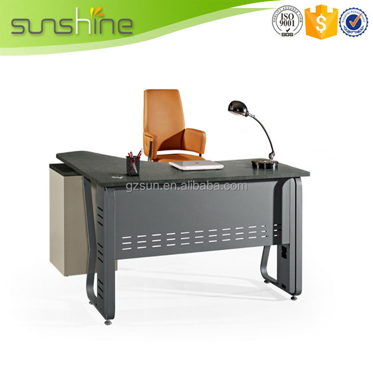 Square Stainless Steel Table Leg MDF Factory Direct Desk Office Table Frame