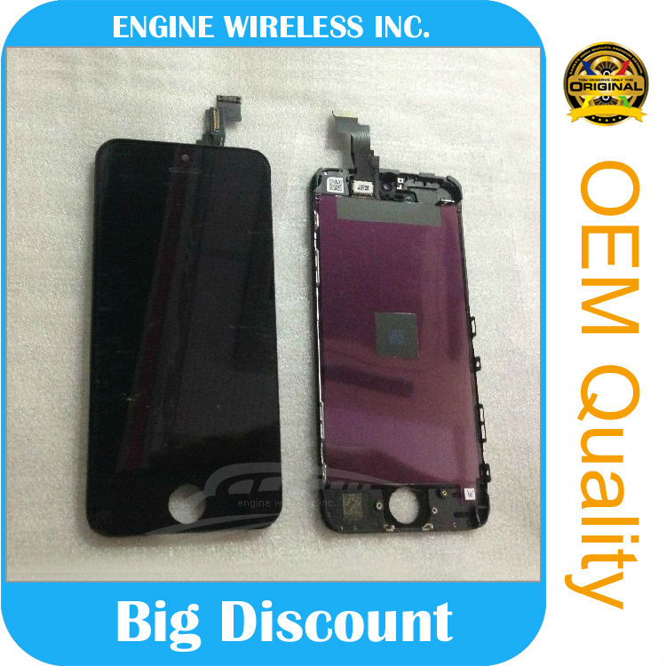 touch screen mobile phone cheap for iphone 5c lcd with digitizer