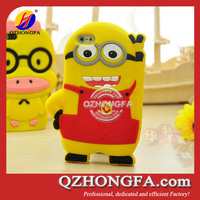 Lovely Cute Despicable Me Silicone Case for iPhone 4 4S 5
