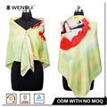 Wholesale New Twill Silk Scarf Fashion Pattern Digital Printing Silk Twill Scarf