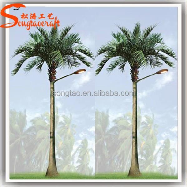 Pas cher led palmier lumi re led solaire ext rieure arbre for Palmier artificiel moins cher