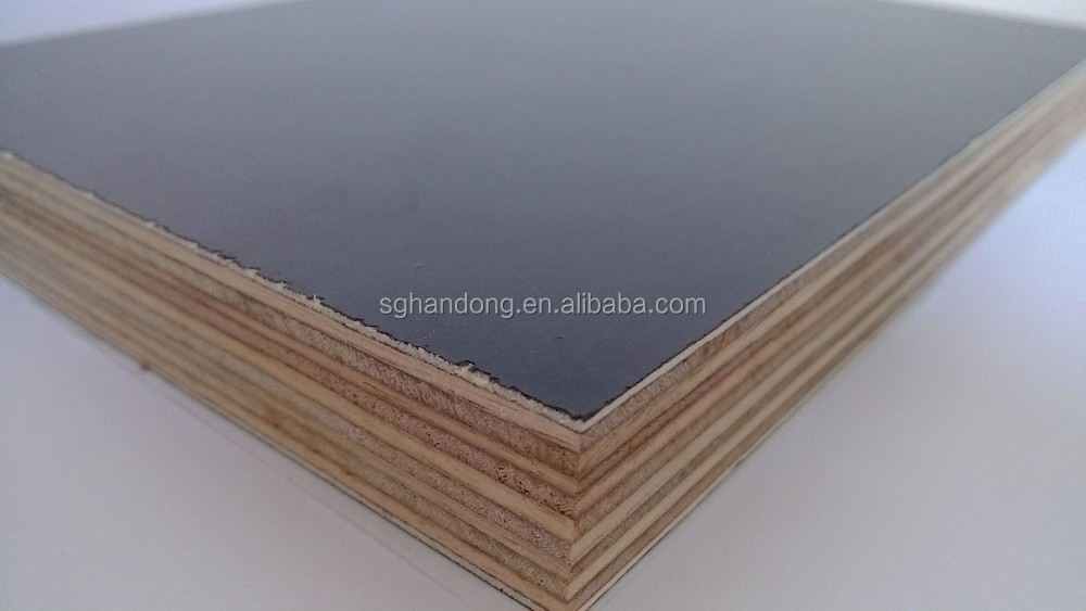 F film faced structural plywood mm black concrete form