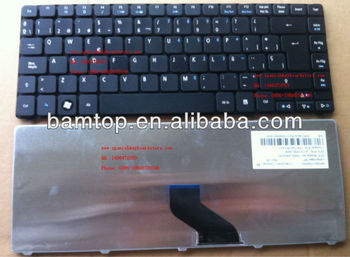 Spanish Layout Keyboard For Acer Aspire 4250