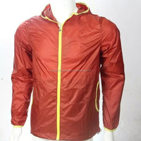 Men's Packable Breathable Waterproof golf rain coat