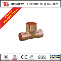 c1100 copper price copper cross fitting brass tee