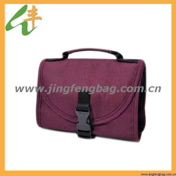 foldable hanging travel toiletry bag