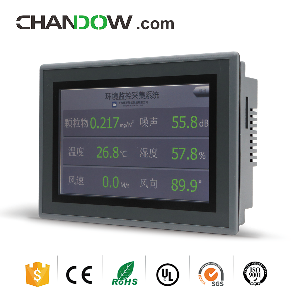 Chandow WTH407A 7 Inch TFT-LCD HMI With 32Bit A9 Processor 2GB DDR3 Human Machine Interface
