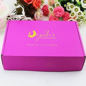 New coming custom design harmless packaging box for hair extension