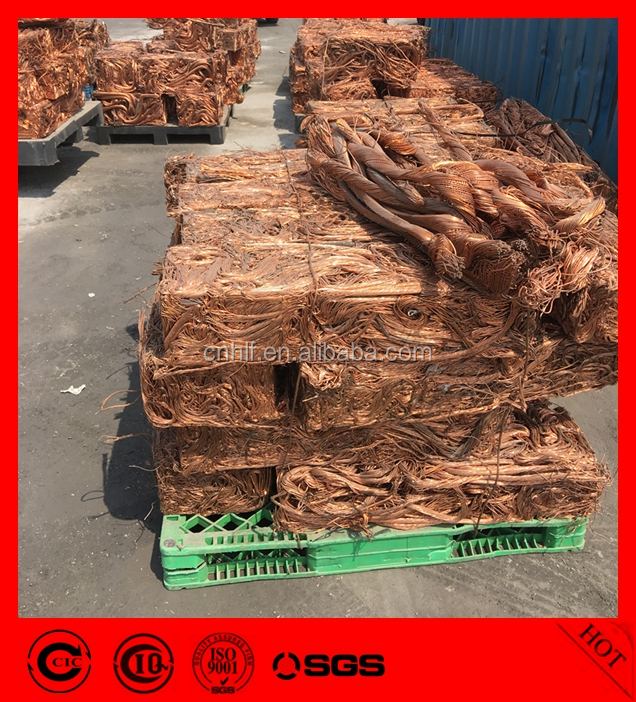 bulk cheap metal copper wire scrap 99.9%, copper scrap millberry