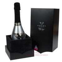 Luxury wooden packaging gift box for wine