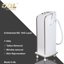 Gabriel Stationary Q-Switched Nd:Yag Laser New model Tattoo Removal Device Beauty Salon Use Ce Approved