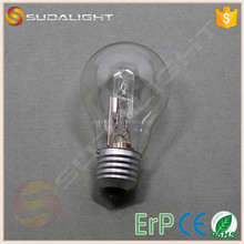 Eco E27 clear bulb A55 halogen bulb a55 energy saving lamps repairing