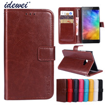 Luxury Flip PU Leather Wallet Mobile phone Cover Case For Xiaomi Mi Note2 with Card Holder