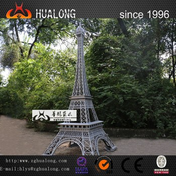 Eiffel Tower Model for miniature landscape