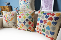 Heart love Cushion cover