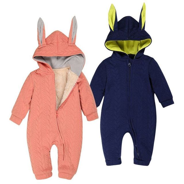 Customize Unisex animal Boys Clothes 3-9 Months wholesale cheap infant Newborn jumpsuit kid Clothing baby winter romper