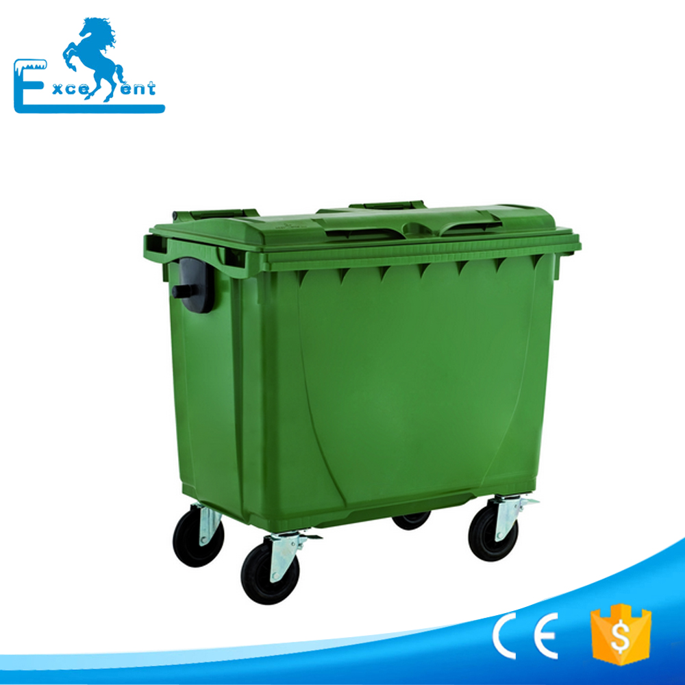Professional plastic handmade dustbin with high quality