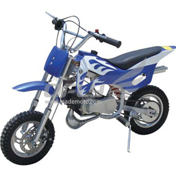 Best selling kids gas blue mini dirt bikes 50cc