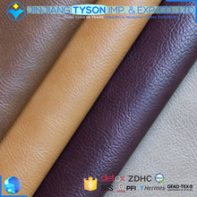 Wholesale pu raw material faux artificial leather fabric for shoes