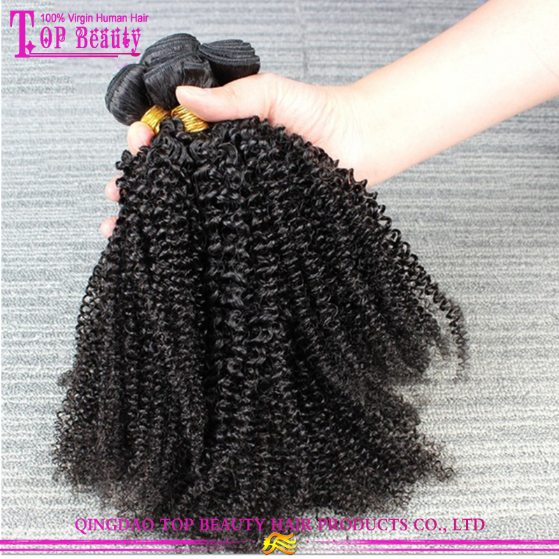 Mongolian curly hair extension for black women hot kinky curly hair weave 8A grade mongolian kinky curly hair
