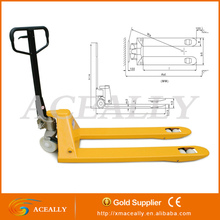 ACEALLY manual hydraulic pallet truck hot sale for lifting appliance