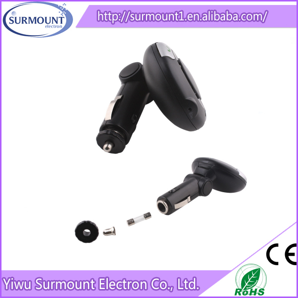 BT06 New arrival BT06 New Item Bluetooth Speakerphone handfree Car Kit Powered by Cigarette Lighter