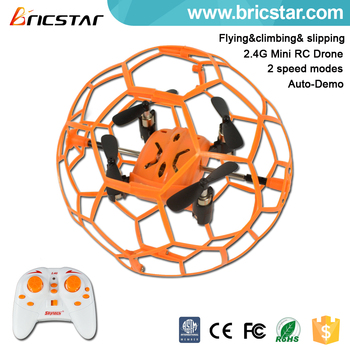 Newest 2.4G mini football drone toy with 2 speeds