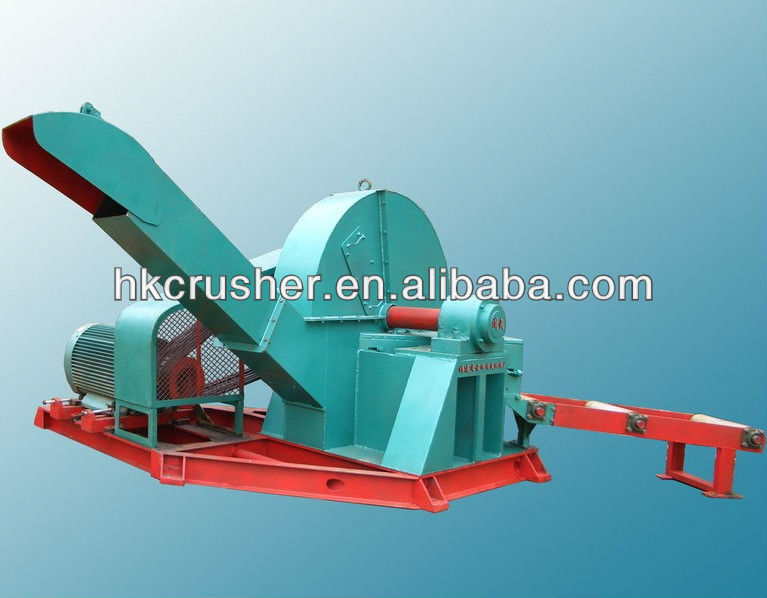 low power consumption wood chips log making machine for sale