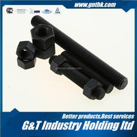 DIN975 black oxide or zinc plated 3 meter M27 A193 B16 threaded rod