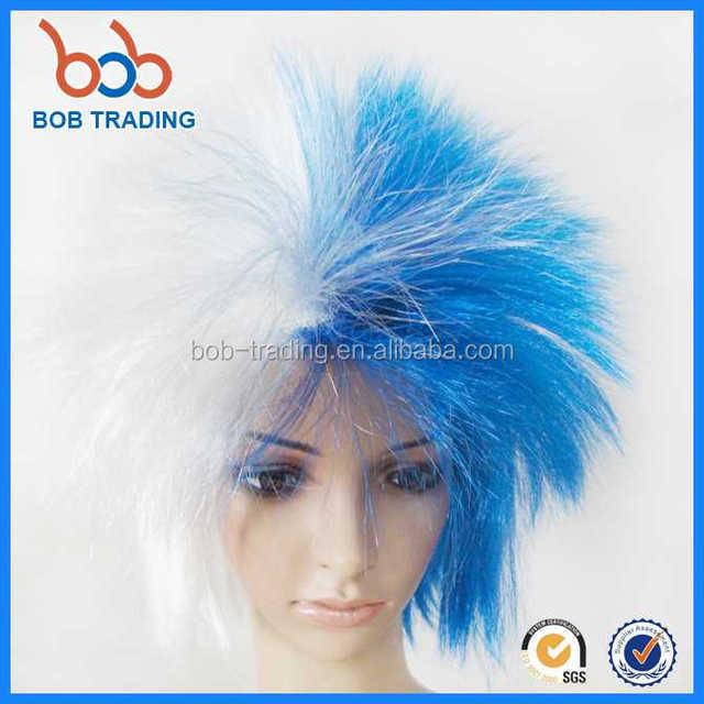 2018 eco-friendly female cosplay wig novel fan wigs