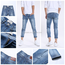 2017 New Arrivals Ripped Denim Man Jeans