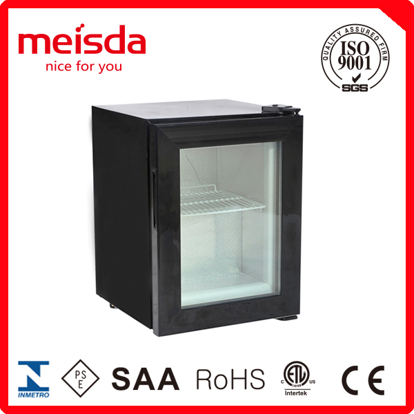 21L dispaly freezer refrigerator countertop freezer with CE