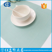 GB-078 Eco-Friendly plastic linen lace pvc table runner
