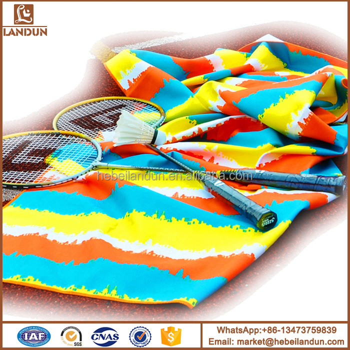 Best selling durable using microfiber sports travel towel