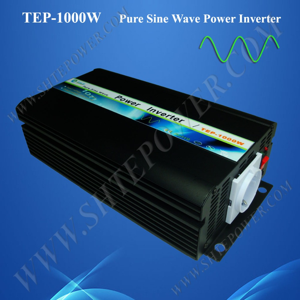High Transform efficiency and fast start 1000w off grid 24v dc to 120v ac inverter