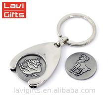 Best price of plastic squeeze coin holder with Customized