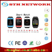 Bluetooth Smart Watch WristWatch S12 Watch for Samsung S4/Note 2/Note 3 HTC LG Huawei Xiaomi Android Phone Smart phones