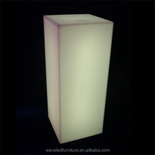 Acrylic LED glowing lights commercial Square column high quality with CE&RoHS