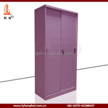 Discount alibaba second hand steel cupboards large metal storage cabinets with glass sliding door in russian