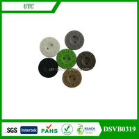 t shirt garment plastic pu rubber button