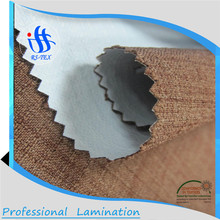 High Quality waterproof breathable fabric laminated jute fabric