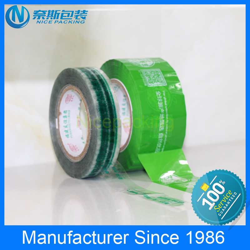 very popular printed bopp packing tape with any logo you want