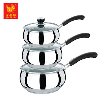 most popular items metal cookware stainless steel noodle cooking pot for selling