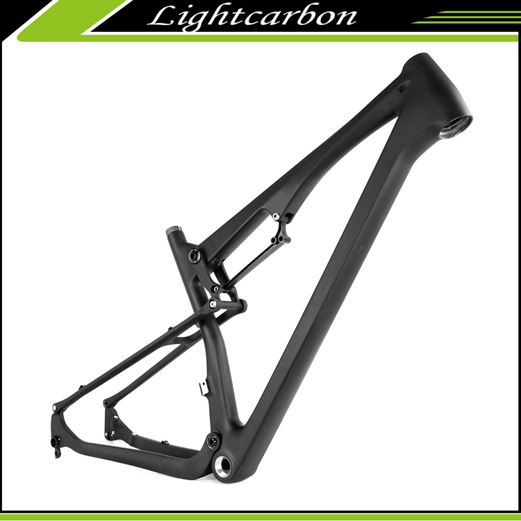 LightCarbon LCFS703 full suspension frame for Carbon mountain Bike Frame 27.5er