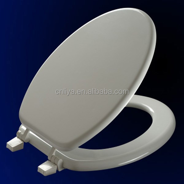 M58 European wood toilet seat cover