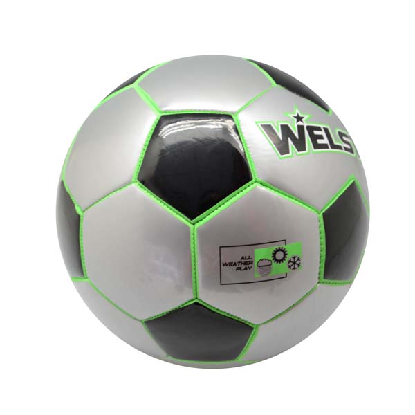 High Quality Neon Color Light Up Printing Soccer ball Luminous Futbol Machine Sitched PVC Material Soccer