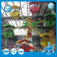 Children favourite attractive musical kiddie ferris wheel for sale