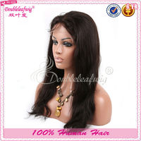 100 kanekalon fiber synthetic full lace wigs with baby hair