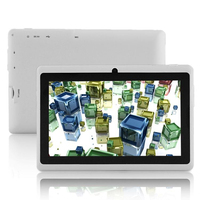 White For Android 4.4 For Google With GPS WIFI with Phone Bluetooth SIM 7 inch Dual Core Tablet PC