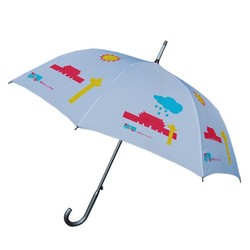 23 inch aluminium durable popular straight umbrella